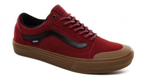 TY MORROW OLD SKOOL PRO BMX Schuh 2020 biking red/gum