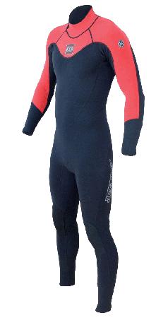 CAUSE ELITE 3/2 Full Suit black/red