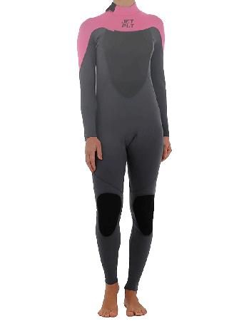 FLIGHT 3/2 BACK ZIP Full Suit pink