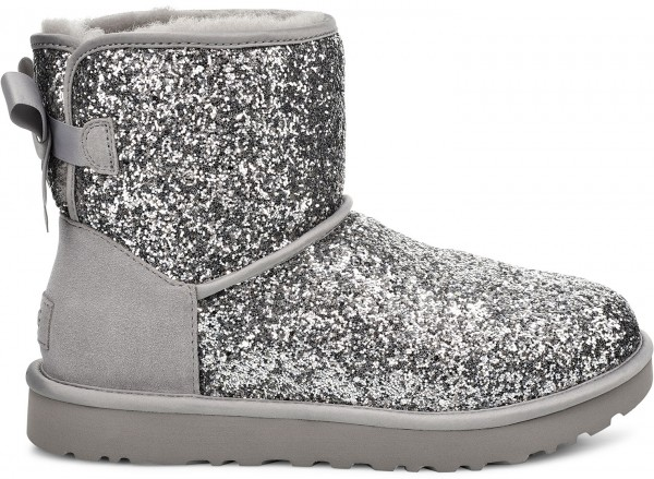 CLASSIC MINI COSMOS BOW Boots 2020 silver