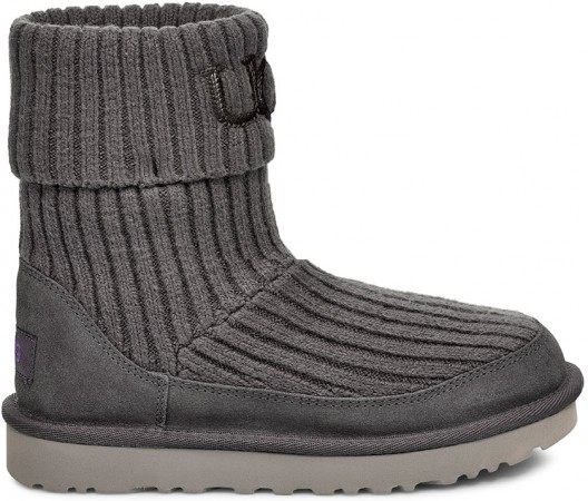 CLASSIC KNIT Boots 2020 charcoal