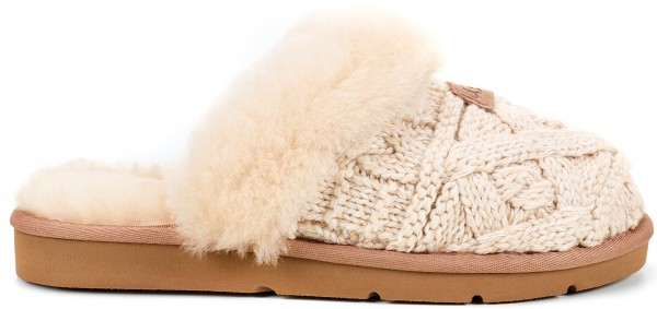 Ugg Cozy Cable Hausschuh 2018 Fawn Warehouse One