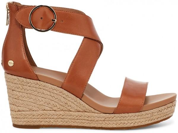 HYLDA Sandale 2021 tan leather