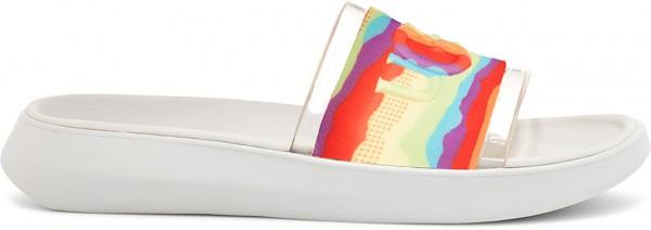 SLIDE CALI COLLAGE Sandale 2021 rainbow stripes