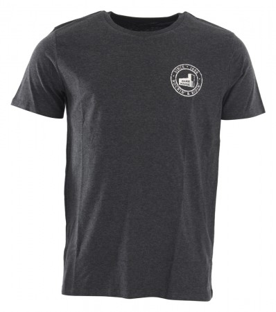 RANGE REVERSE ORGANIC T-Shirt dark heather grey