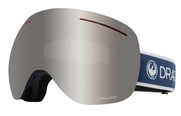 X1 Schneebrille 2020 designer/lumalens silver + lumalens flash blue