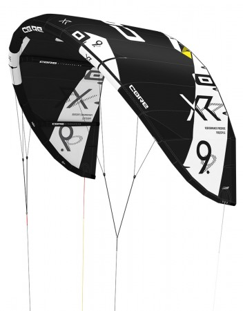 XR5 Test-Kite tech black 10