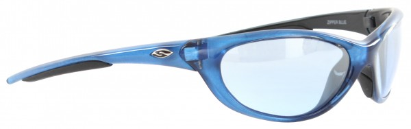ZIPPER Sunglasses blue/light blue flash