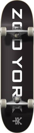 LOGO BLOCK Skateboard 2021 black/white