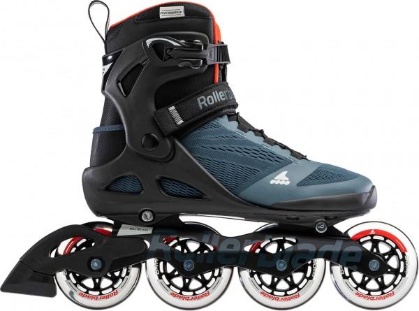 MACROBLADE 90 Inline Skate 2021 orion blue/spicy orange
