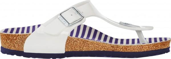 GIZEH KIDS SLIM Sandale 2019 nautical stripes white