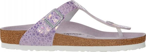 GIZEH Sandale 2019 metallic stones lilac
