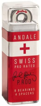 P-ROD SWISS 8er Set Kugellager white/red