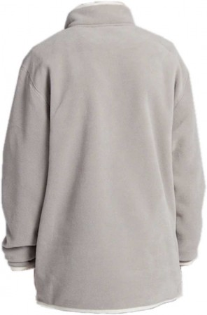 HEARTH Fleece Sweater 2021 iron gray