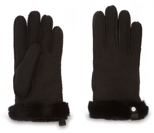 SHORTY LEATHER TRIM Glove 2020 black