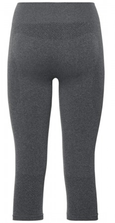 BOTTOM PERFORMANCE WARM WOMEN 3/4 Hose 2020 black/odlo concrete grey