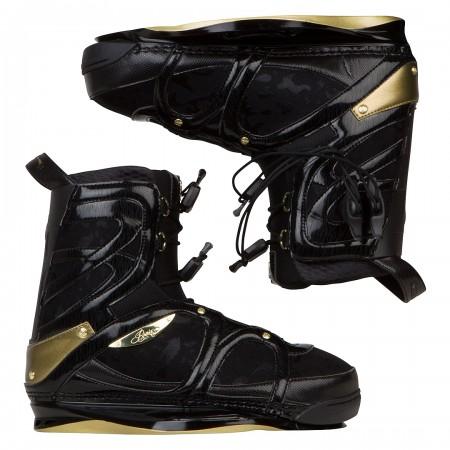 FAITH HOPE LOVE Boots caviar/golden