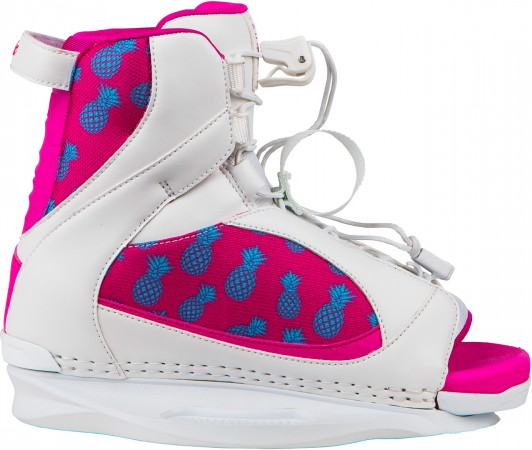 AUGUST GIRLS Boots 2018 white/pink/pineapple express