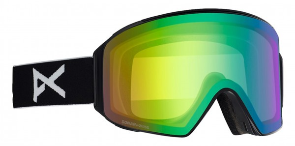 M4 CYLINDRICAL Goggle 2020 black/sonar green