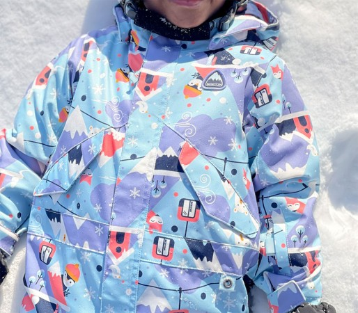TODDLER ONE PIECE Overall 2022 snow day