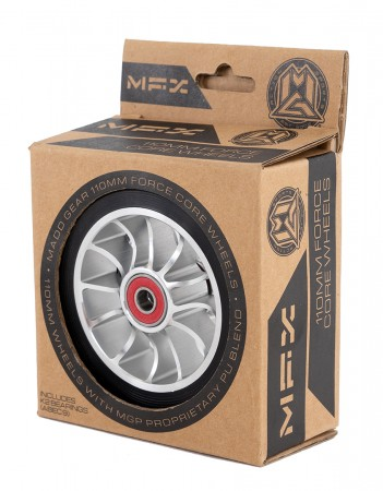 MGP SHREDDER 110mm 2 Pack Wheel black/silver