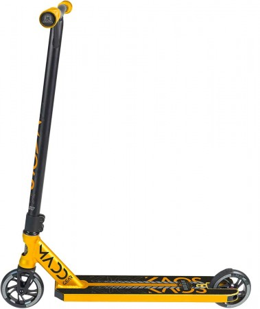 KICK KAOS Scooter black/gold