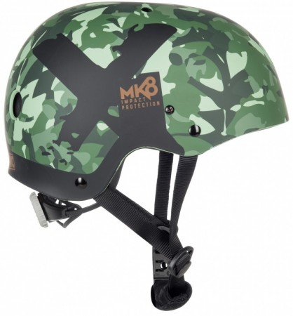 MK8 X Helm 2018 green allover