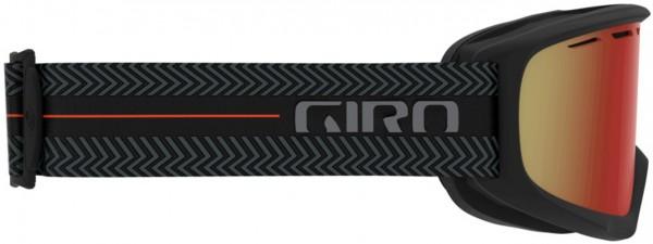 INDEX Schneebrille 2021 black techline/amber scarlet