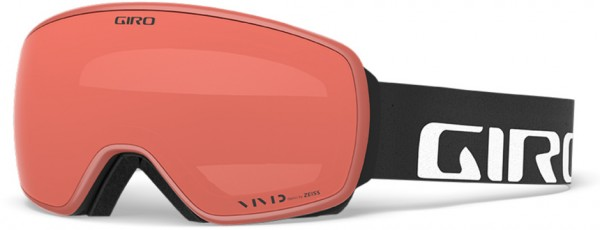 AGENT Goggle 2020 black wordmark/vivid emerald + vivid infrared