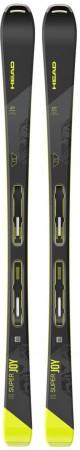 SUPER JOY SW SLR JOY PRO Ski 2022 inkl. JOY 11 GW SLR BRAKE 78 matte black/flash yellow