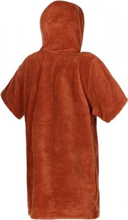 TEDDY JUNIOR Poncho 2021 rusty red