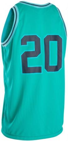 BASKETBALL TANK Lycra 2020 blue