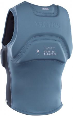 VECTOR AMP Weste 2021 steel blue/black