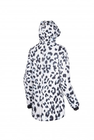 DANA R Jacke 2020 white leopard