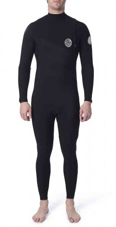 FLASHBOMB 4/3 ZIP FREE Full Suit 2020 black