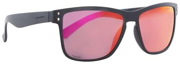 GREATY POLARIZED Sonnenbrille black matte/purple red mirror