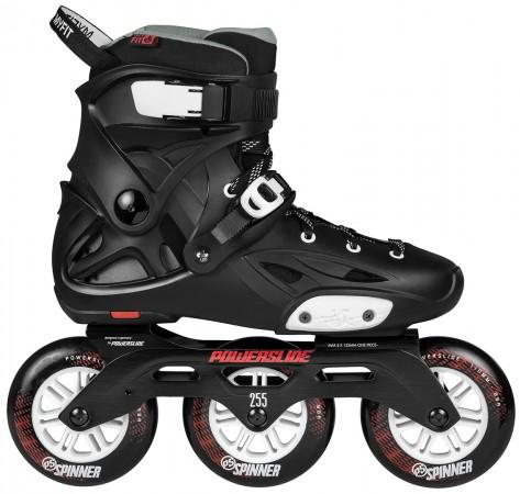 IMPERIAL 110 Inline Skate 2020 black crimson