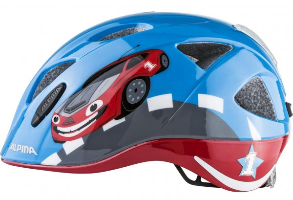 XIMO FLASH Helm 2019 red car