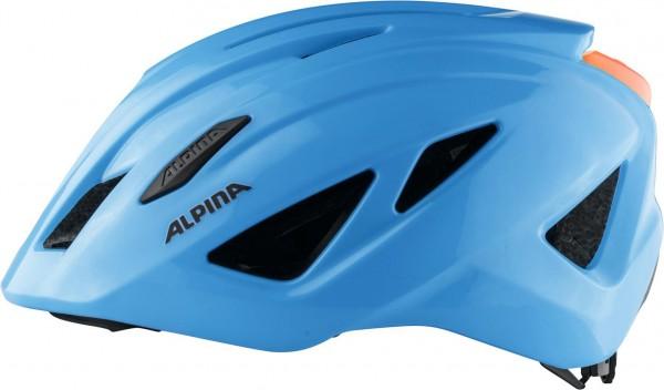PICO FLASH Helm 2021 neon blue gloss