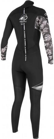 4/3 DIVINE BACK ZIP Full Suit 2021 black