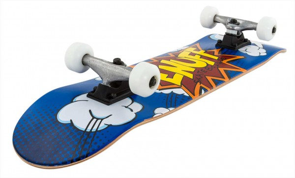 POW Skateboard 2021 blue