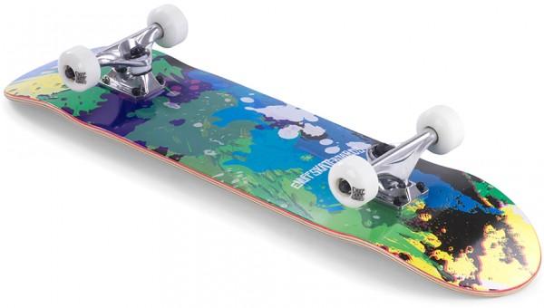 SPLAT Skateboard 2021 green/blue