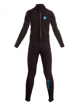 SYNCRO BASE GIRL 3/2 BACK ZIP Full Suit black