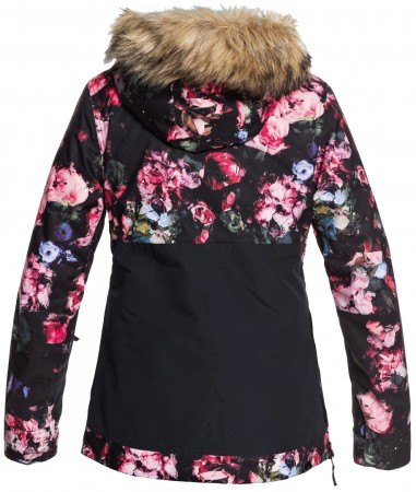 SHELTER Jacke 2021 true black blooming party