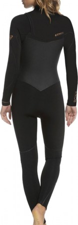 4/3 PERFORMANCE CHEST ZIP Full Suit 2021 black/rose gold