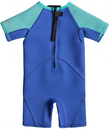 SYNCRO 1.5MM TODDLER BACKZIP Shorty 2018 sea blue