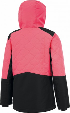 LEELOO Jacke 2021 neon pink/black