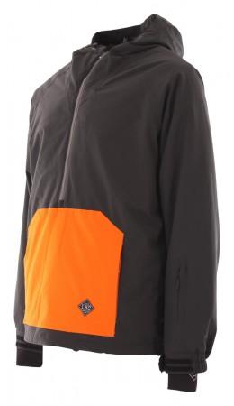 RAIL Jacke 2020 black/orange