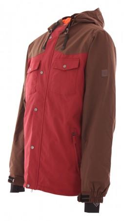 STANLEY Jacke 2020 dark brown/burgundy