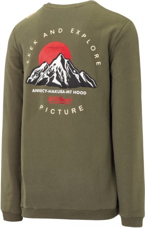 MT HOOD Sweater 2020 dark army green